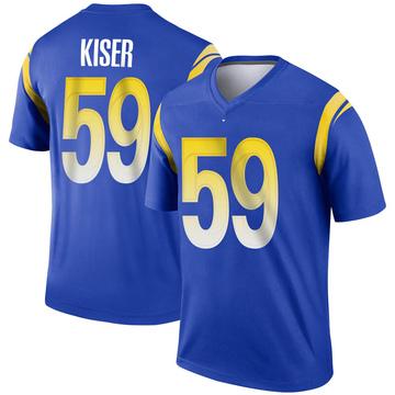 Youth Nike Los Angeles Rams Micah Kiser Royal Jersey - Legend