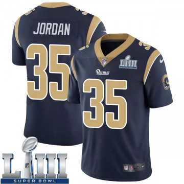 Youth Nike Los Angeles Rams Michael Jordan Navy Team Color Super Bowl LIII Bound Vapor Untouchable Jersey - Limited