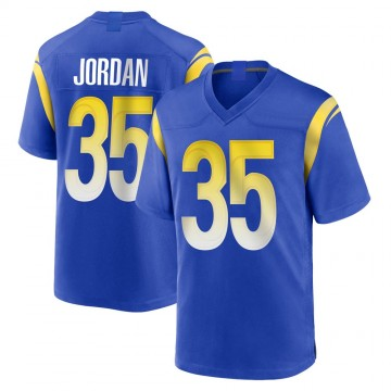 Youth Nike Los Angeles Rams Michael Jordan Royal Alternate Jersey - Game