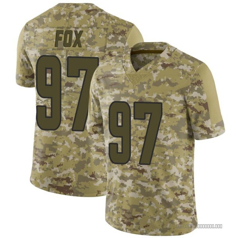 info for 75cf7 2f50e Youth Nike Los Angeles Rams Morgan Fox Camo 2018 Salute to Service Jersey -  Limited