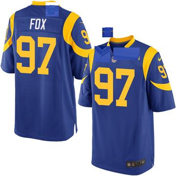 Youth Nike Los Angeles Rams Morgan Fox Royal Alternate Jersey - Game
