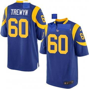 Youth Nike Los Angeles Rams Nate Trewyn Royal Alternate Jersey - Game