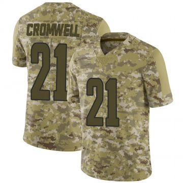 Youth Nike Los Angeles Rams Nolan Cromwell Camo 2018 Salute to Service Jersey - Limited