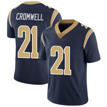 Youth Nike Los Angeles Rams Nolan Cromwell Navy Team Color Vapor Untouchable Jersey - Limited
