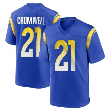 Youth Nike Los Angeles Rams Nolan Cromwell Royal Alternate Jersey - Game