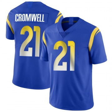 Youth Nike Los Angeles Rams Nolan Cromwell Royal Alternate Vapor Untouchable Jersey - Limited