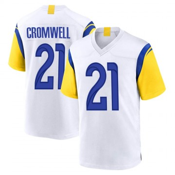 Youth Nike Los Angeles Rams Nolan Cromwell White Jersey - Game
