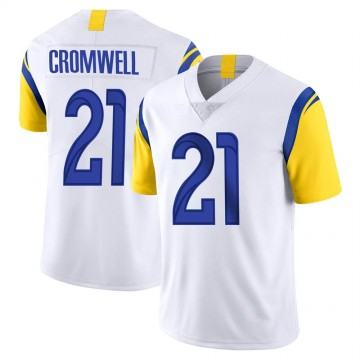Youth Nike Los Angeles Rams Nolan Cromwell White Vapor Untouchable Jersey - Limited