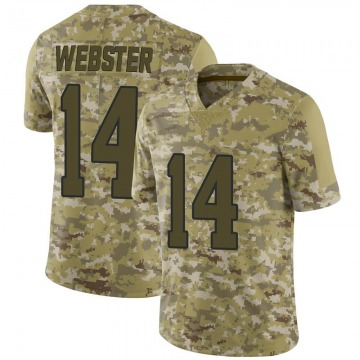 Youth Nike Los Angeles Rams Nsimba Webster Camo 2018 Salute to Service Jersey - Limited