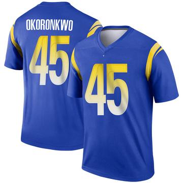Youth Nike Los Angeles Rams Ogbonnia Okoronkwo Royal Jersey - Legend