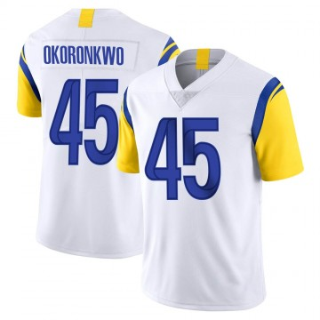 Youth Nike Los Angeles Rams Ogbonnia Okoronkwo White Vapor Untouchable Jersey - Limited