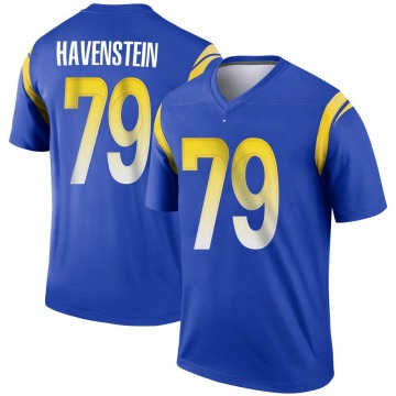 Youth Nike Los Angeles Rams Rob Havenstein Royal Jersey - Legend
