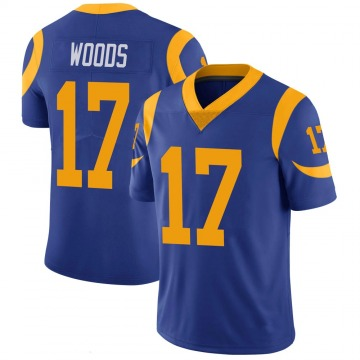 Youth Nike Los Angeles Rams Robert Woods Royal 100th Vapor Jersey - Limited