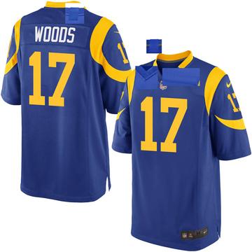 Youth Nike Los Angeles Rams Robert Woods Royal Alternate Jersey - Game