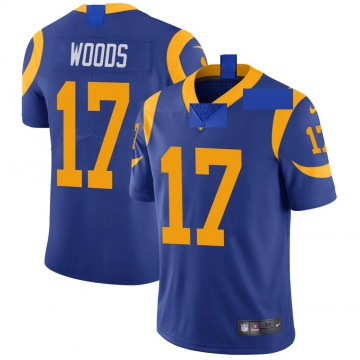 Youth Nike Los Angeles Rams Robert Woods Royal Alternate Vapor Untouchable Jersey - Limited