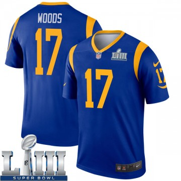Youth Nike Los Angeles Rams Robert Woods Royal Super Bowl LIII Bound Jersey - Legend