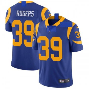 Youth Nike Los Angeles Rams Sam Rogers Royal Alternate Vapor Untouchable Jersey - Limited