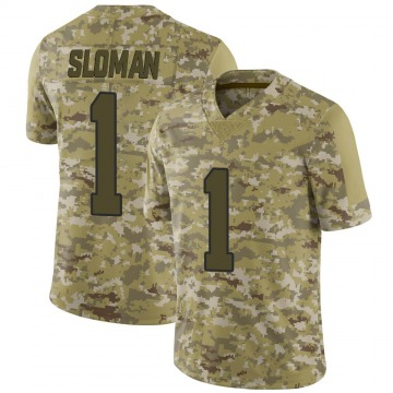 Youth Nike Los Angeles Rams Sam Sloman Camo 2018 Salute to Service Jersey - Limited