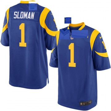Youth Nike Los Angeles Rams Sam Sloman Royal Alternate Jersey - Game