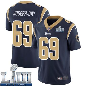 Youth Nike Los Angeles Rams Sebastian Joseph-Day Navy Team Color Super Bowl LIII Bound Vapor Untouchable Jersey - Limited