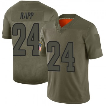 Youth Nike Los Angeles Rams Taylor Rapp Camo 2019 Salute to Service Jersey - Limited