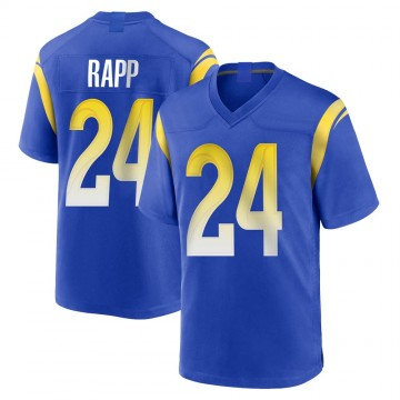 Youth Nike Los Angeles Rams Taylor Rapp Royal Alternate Jersey - Game
