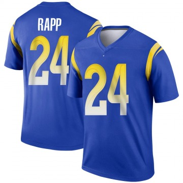 Youth Nike Los Angeles Rams Taylor Rapp Royal Jersey - Legend