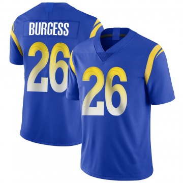 Youth Nike Los Angeles Rams Terrell Burgess Royal Alternate Vapor Untouchable Jersey - Limited