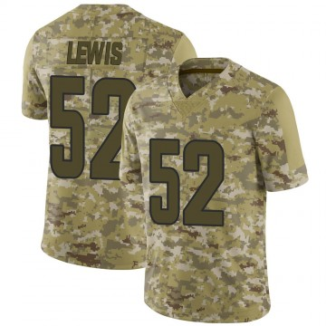 Youth Nike Los Angeles Rams Terrell Lewis Camo 2018 Salute to Service Jersey - Limited