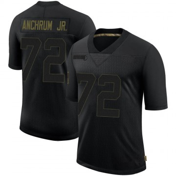 Youth Nike Los Angeles Rams Tremayne Anchrum Black 2020 Salute To Service Jersey - Limited