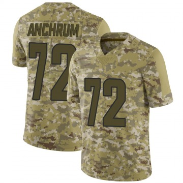 Youth Nike Los Angeles Rams Tremayne Anchrum Camo 2018 Salute to Service Jersey - Limited