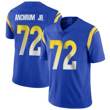 Youth Nike Los Angeles Rams Tremayne Anchrum Royal Alternate Vapor Untouchable Jersey - Limited