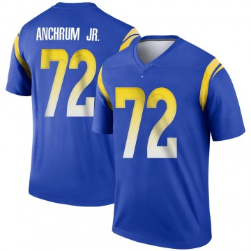 Youth Nike Los Angeles Rams Tremayne Anchrum Royal Jersey - Legend