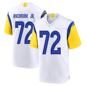 Youth Nike Los Angeles Rams Tremayne Anchrum White Jersey - Game