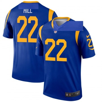 Youth Nike Los Angeles Rams Troy Hill Royal Jersey - Legend