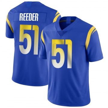 Youth Nike Los Angeles Rams Troy Reeder Royal Alternate Vapor Untouchable Jersey - Limited