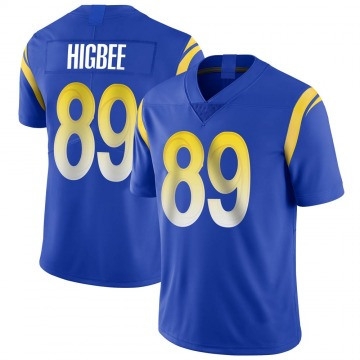Youth Nike Los Angeles Rams Tyler Higbee Royal Alternate Vapor Untouchable Jersey - Limited