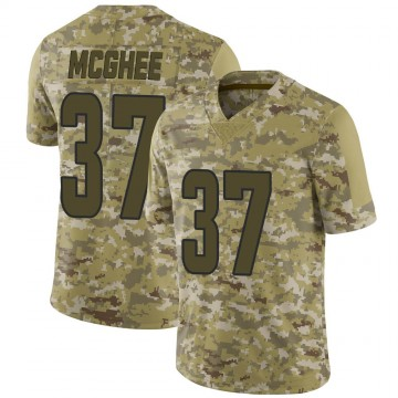 Youth Nike Los Angeles Rams Tyrique McGhee Camo 2018 Salute to Service Jersey - Limited