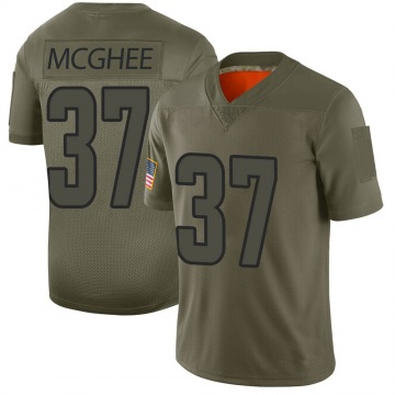 Youth Nike Los Angeles Rams Tyrique McGhee Camo 2019 Salute to Service Jersey - Limited