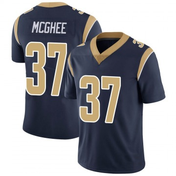 Youth Nike Los Angeles Rams Tyrique McGhee Navy Team Color Vapor Untouchable Jersey - Limited
