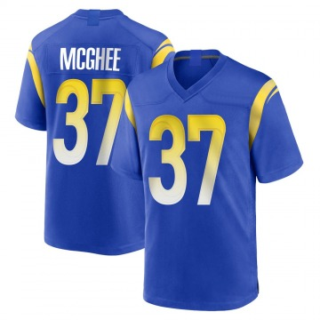 Youth Nike Los Angeles Rams Tyrique McGhee Royal Alternate Jersey - Game