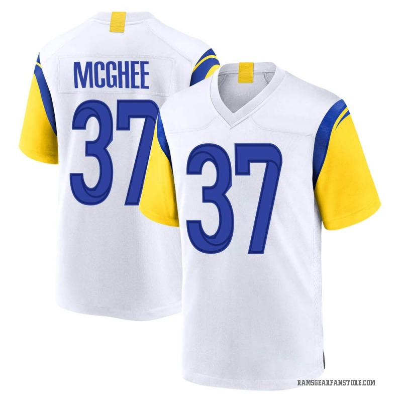 Youth Nike Los Angeles Rams Tyrique McGhee White Jersey - Game