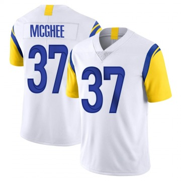 Youth Nike Los Angeles Rams Tyrique McGhee White Vapor Untouchable Jersey - Limited