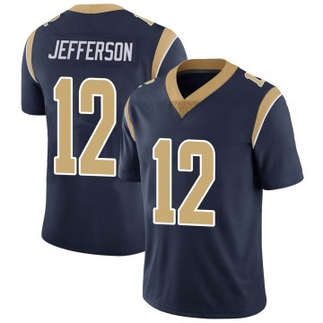 Youth Nike Los Angeles Rams Van Jefferson Navy Team Color Vapor Untouchable Jersey - Limited