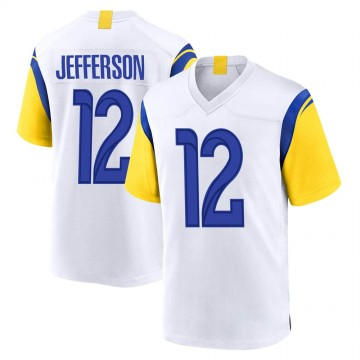Youth Nike Los Angeles Rams Van Jefferson White Jersey - Game