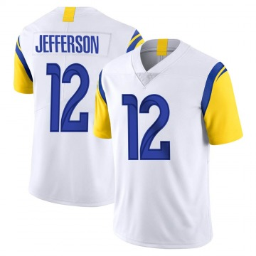 Youth Nike Los Angeles Rams Van Jefferson White Vapor Untouchable Jersey - Limited
