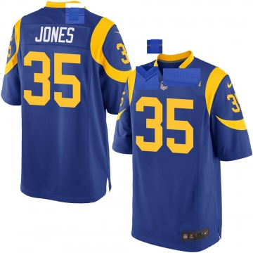 Youth Nike Los Angeles Rams Xavier Jones Royal Alternate Jersey - Game