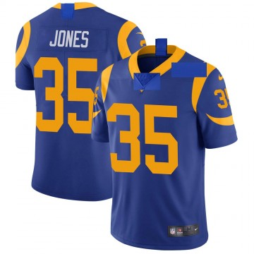 Youth Nike Los Angeles Rams Xavier Jones Royal Alternate Vapor Untouchable Jersey - Limited