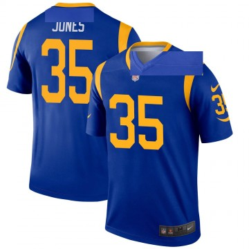 Youth Nike Los Angeles Rams Xavier Jones Royal Jersey - Legend